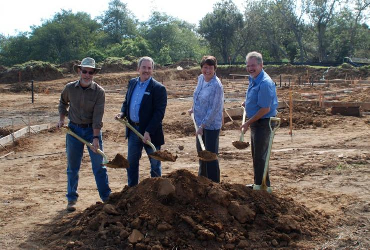 Ground Breaking with Humboldt Area Foundation